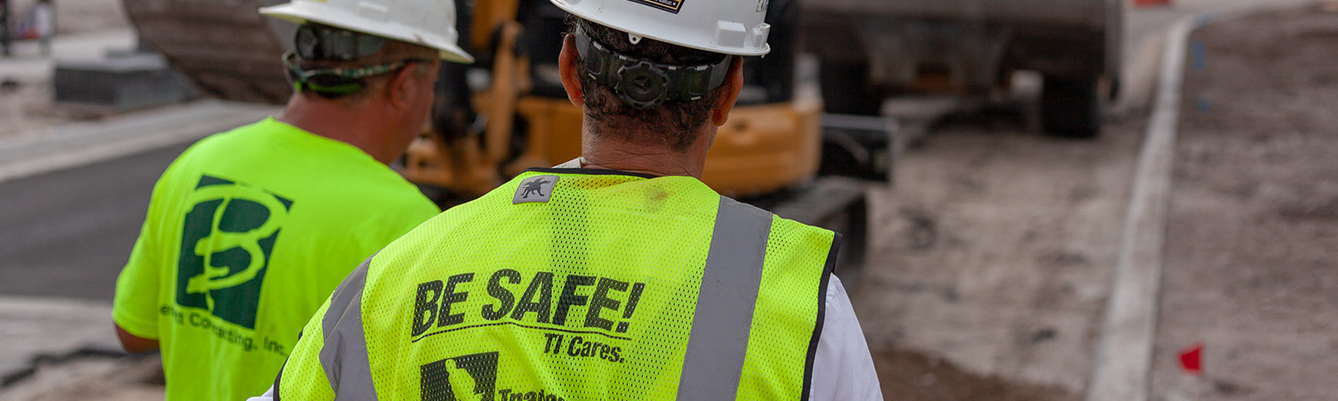 Bennett Contracting incorporates a safety program for all team members.