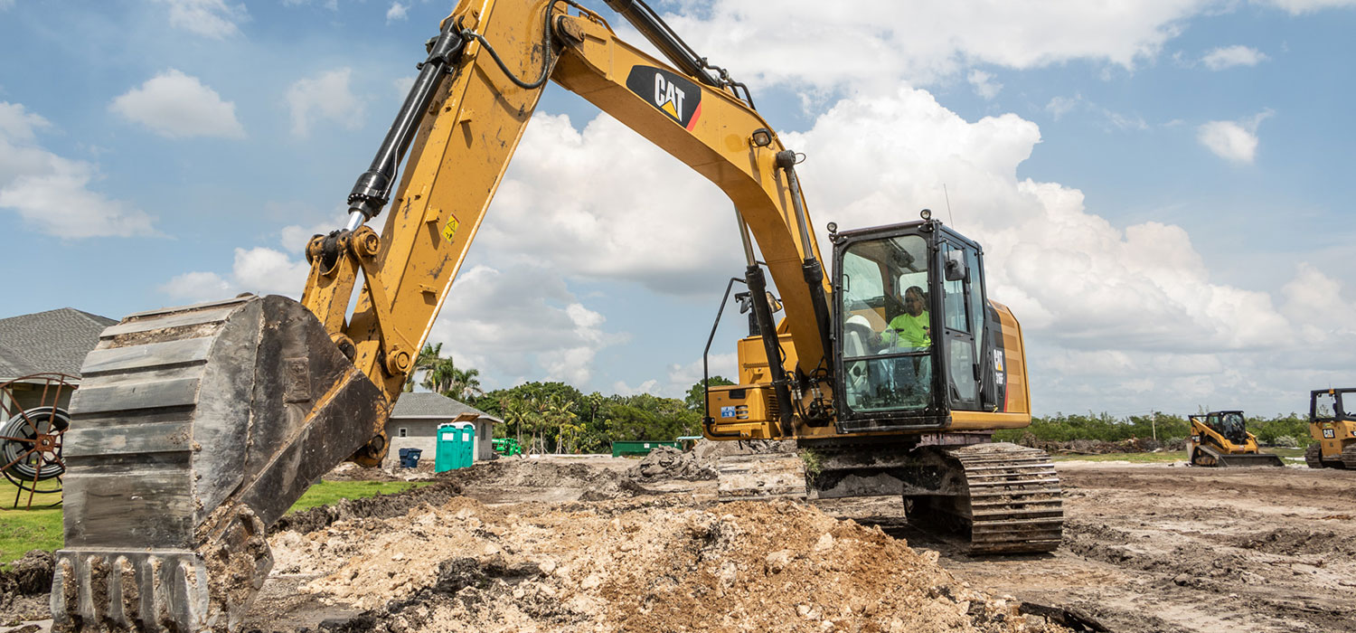 Bennett Contracting Inc. excavating and development services in southwest Florida.